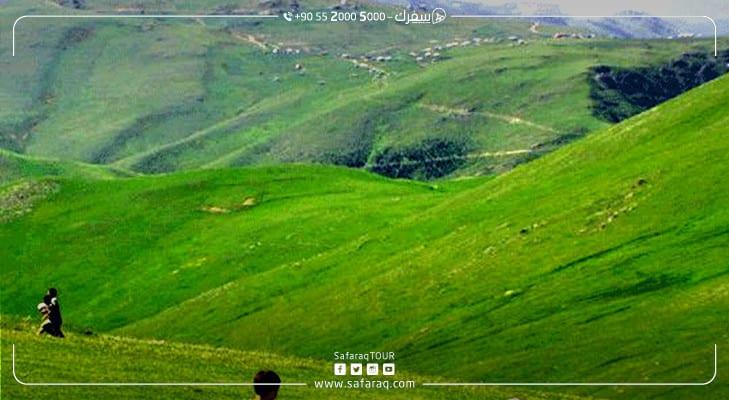 مرتفعات السلطان مراد طبيعة تبهر الأبصار
