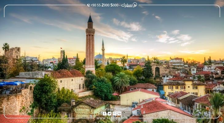 16 مليون سائح يزورون مدينة أنطاليا التركية لعام 2019