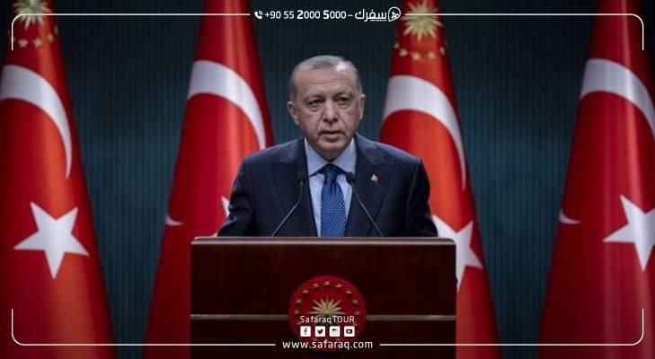 الرئيس التركي يعلن بدء عودة الحياة إلى طبيعتها