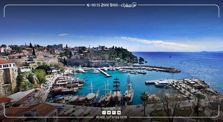 السياحة في أنطاليا تسجل ضعفي عدد سكانها