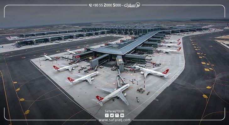 خطوط جوية دولية تطلق رحلاتها للمرة الأولى إلى مطار إسطنبول