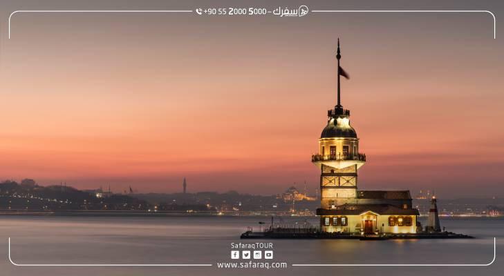 تعرف على برج الفتاة في اسطنبول: قصته وموقعه والأنشطة السياحية