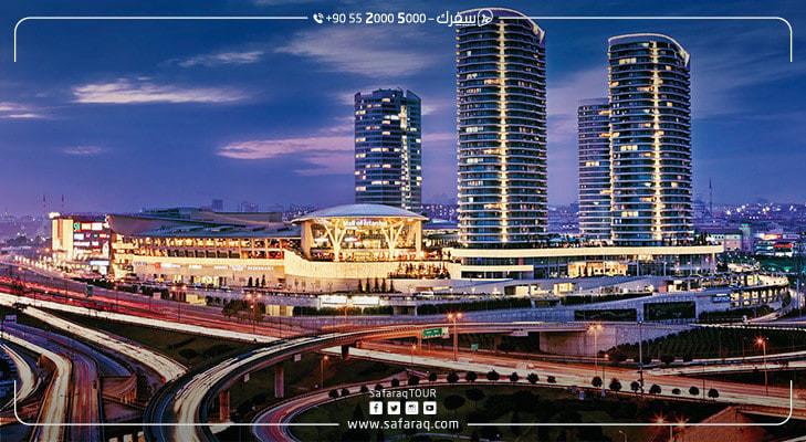 مول اوف اسطنبول  أكبر وافضل مول في تركيا