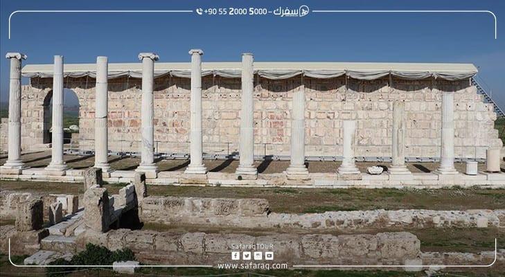 لوحة جدارية ترى النور بعد أكثر من ألف وسبعمئة سنة