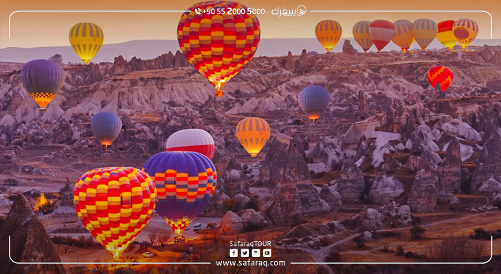 Cappadocia Turkey   First in Number of Balloon Tours Globally