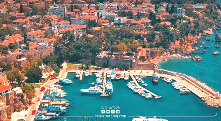 عدد السياح في أنطاليا: 70 ألف زائر يومياً