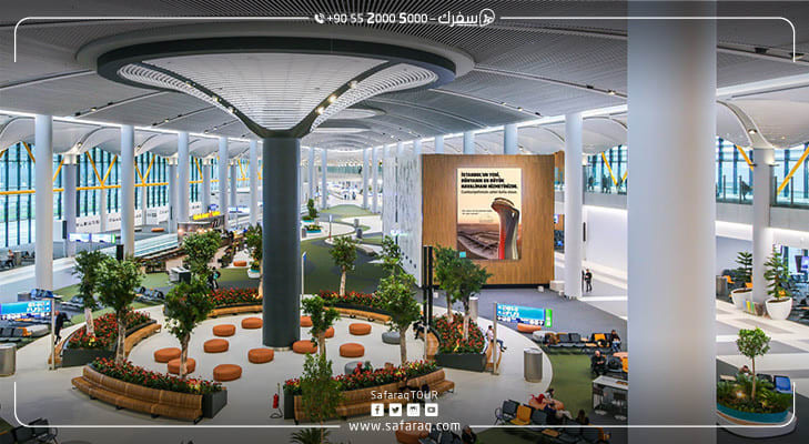 بداية دؤوبة يشهدها مطار اسطنبول الثالث