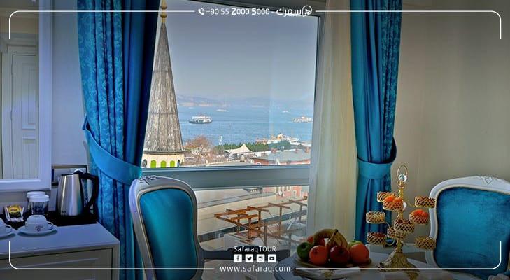 الفنادق في تركيا تصل إلى طاقتها الاستيعابية القصوى