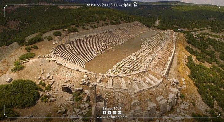 مدينة كيبايرا الأثرية في تركيا