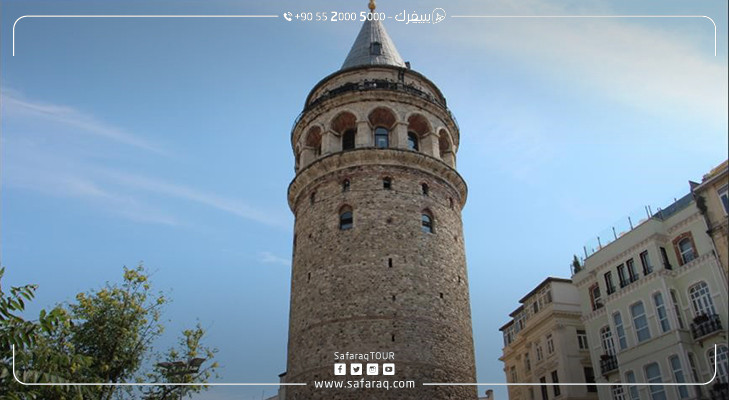 Historical Galata Tower in Istanbul