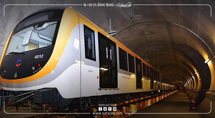 مترو إسطنبول 5 خطوط  جديدة في 2018