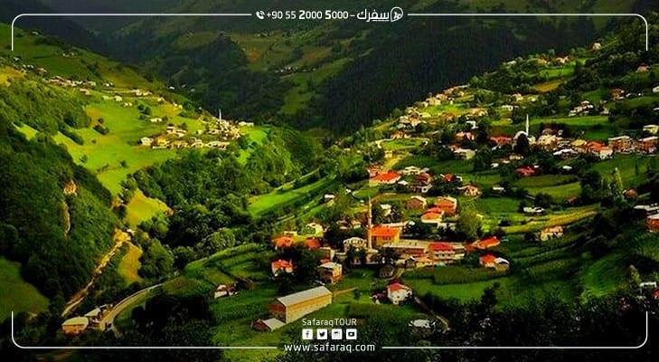 معلومات عن قرية ايدر في الشمال التركي