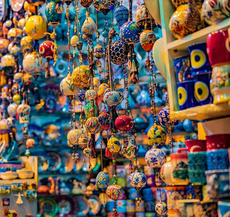 Shops and Goods at the Grand Bazaar