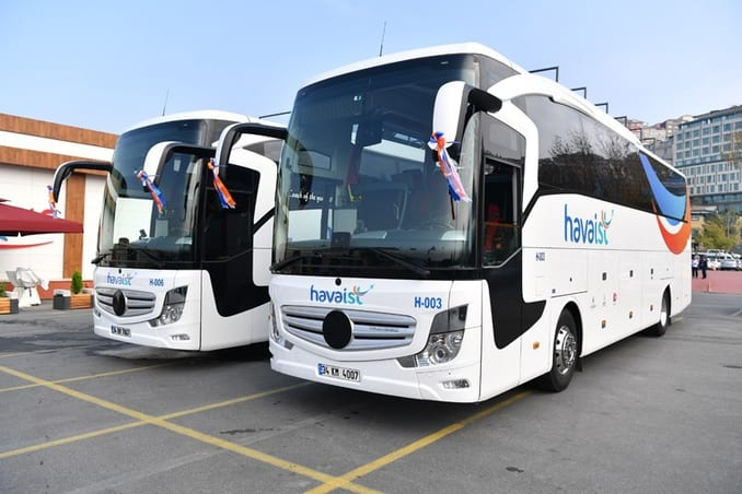Istanbul Airport shuttle bus schedule