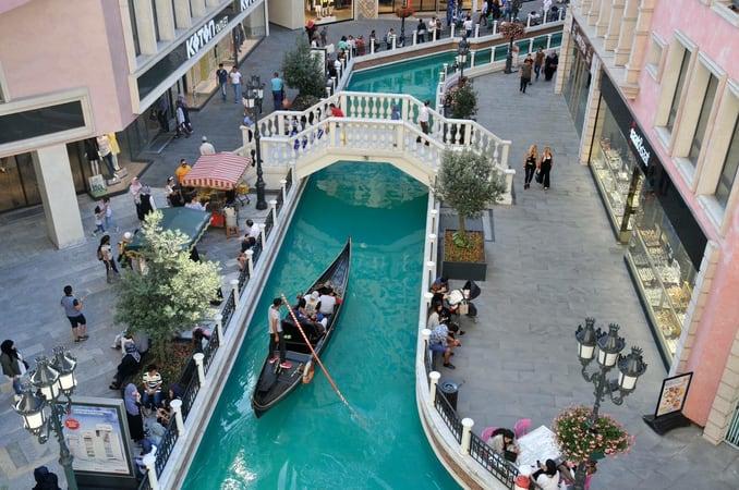 Venezia Mega Outlet Mall in Istanbul