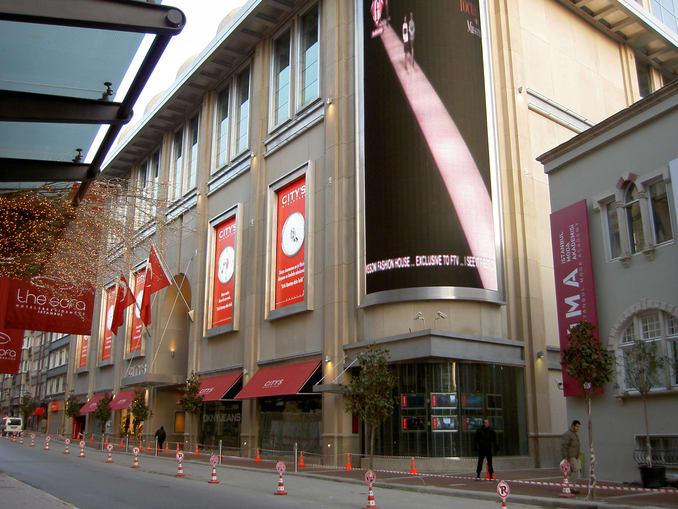 City Nisantasi Shopping center in Istanbul