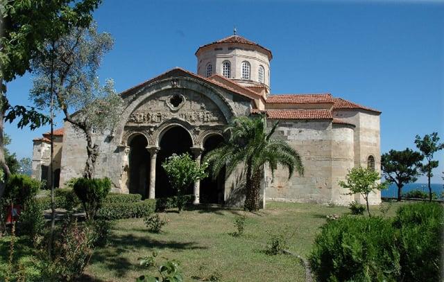 مسجد آياصوفيا طرابزون