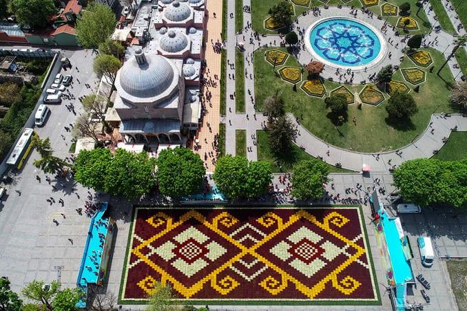 الحدائق في اسطنبول