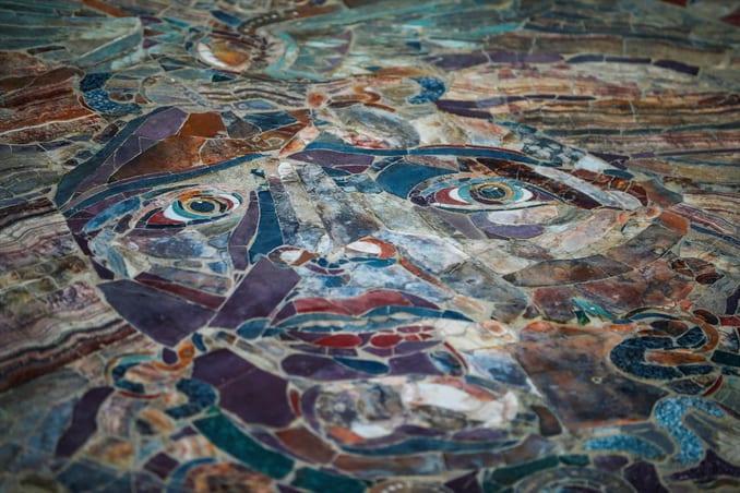 The legendary Painting of Medusa