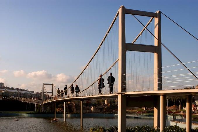 جسر مينيا تورك في اسطنبول Miniaturk