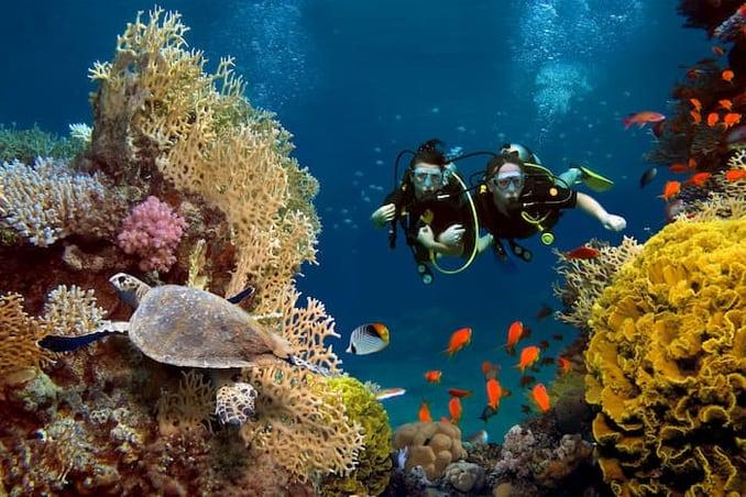 رحلة الغوص في انطاليا