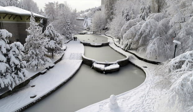 السياحة في تركيا في فصل الشتاء
