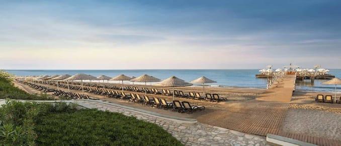 شاطئ بيليك في أنطاليا BELEK / ANTALYA