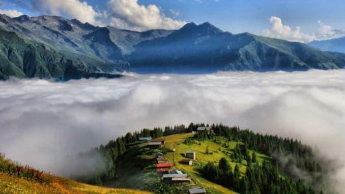 جبال كاشكار في ريزه