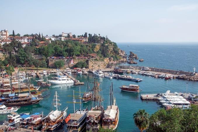 الموسم السياحي في تركيا