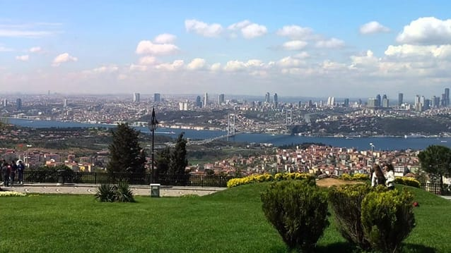 Brides' Hill Park in Istanbul