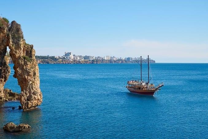 جدول سياحي في أنطاليا