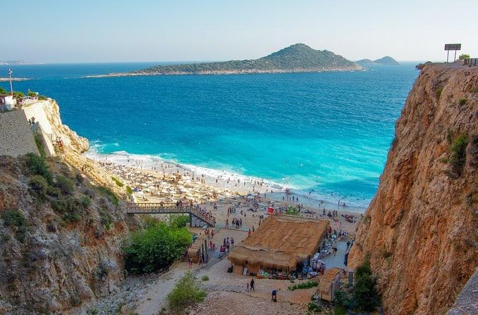 اقبال متزايد على السياحة في انطاليا