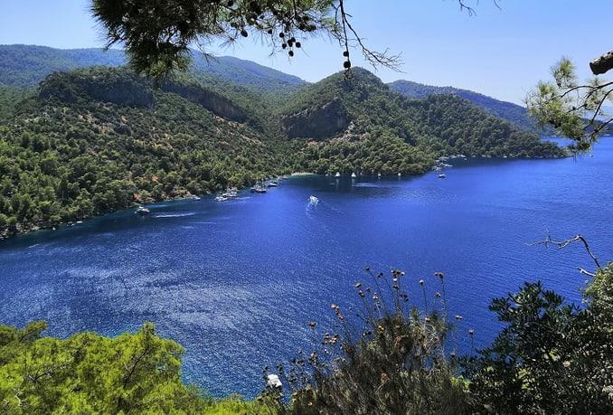 وجهات سياحية دافئة في تركيا