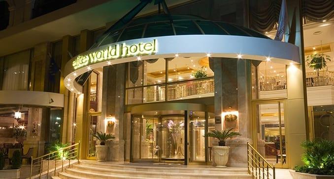 Elite World Istanbul Taksim Hotel