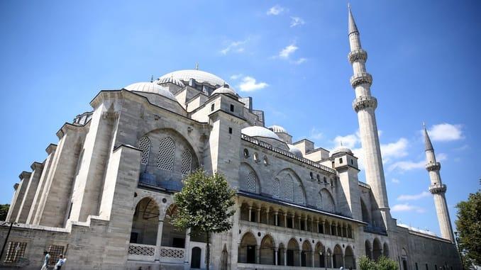 مسجد السليمانية في اسطنبول