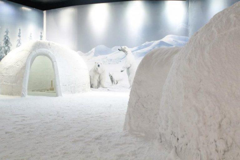 عالم الثلج في انطاليا