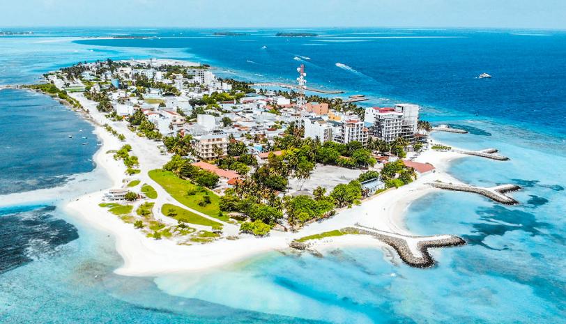 اهم الجزر السياحية في المالديف