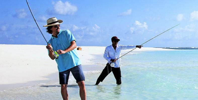 صيد السمك في جزر المالديف