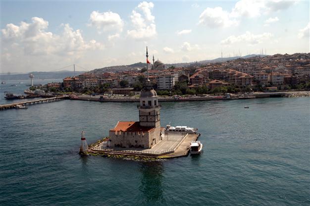 برج الفتاة في اسطنبول اسكودار