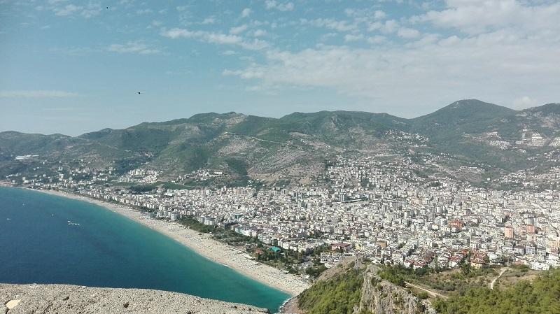 شاطئ كليوباترا تركيا