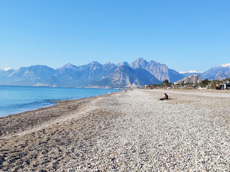 شاطئ كونيالتي اجمل شواطئ انطاليا