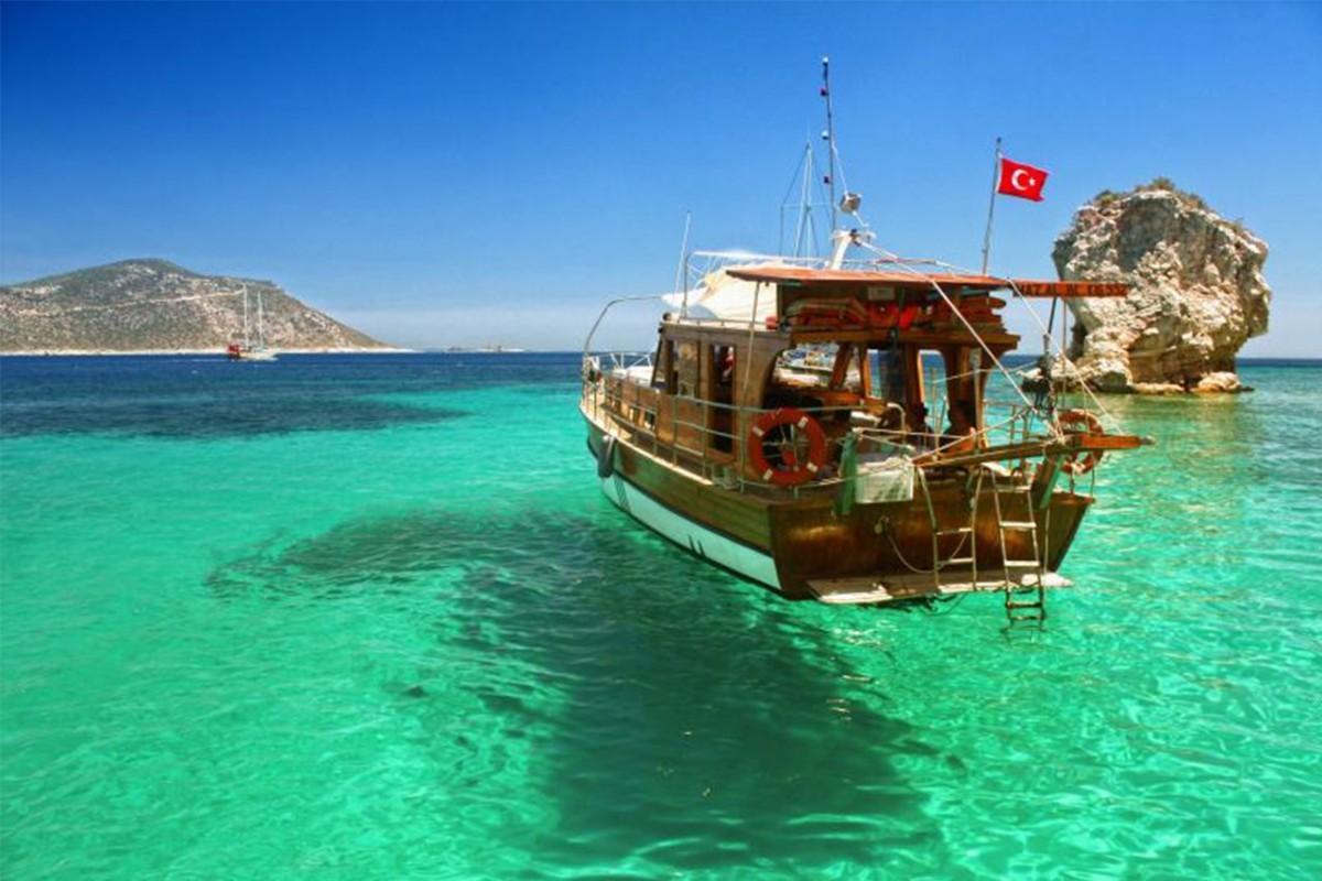 السياح الروس إلى تركيا