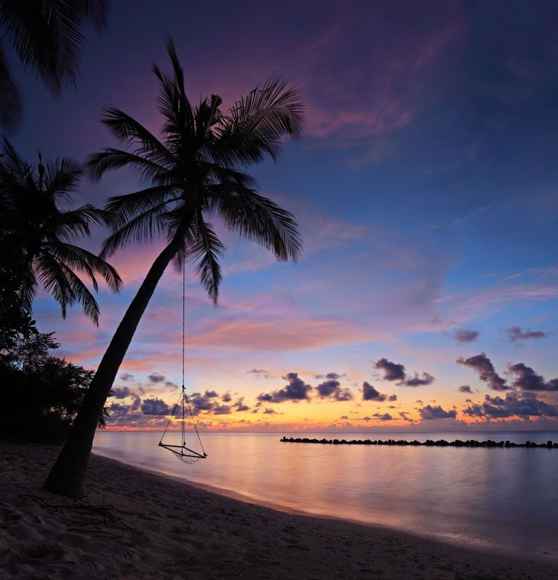 Sunset Watching in Maldives
