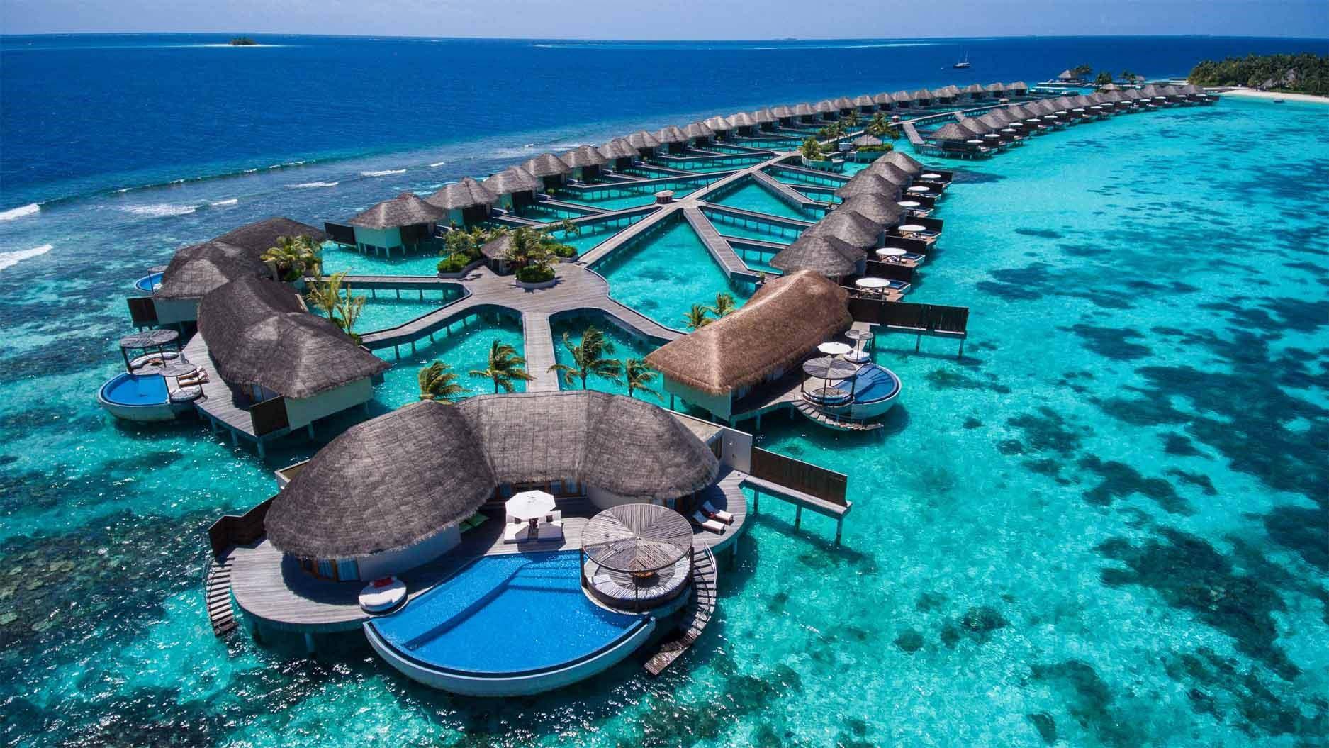 Seaplane Trip in Maldives