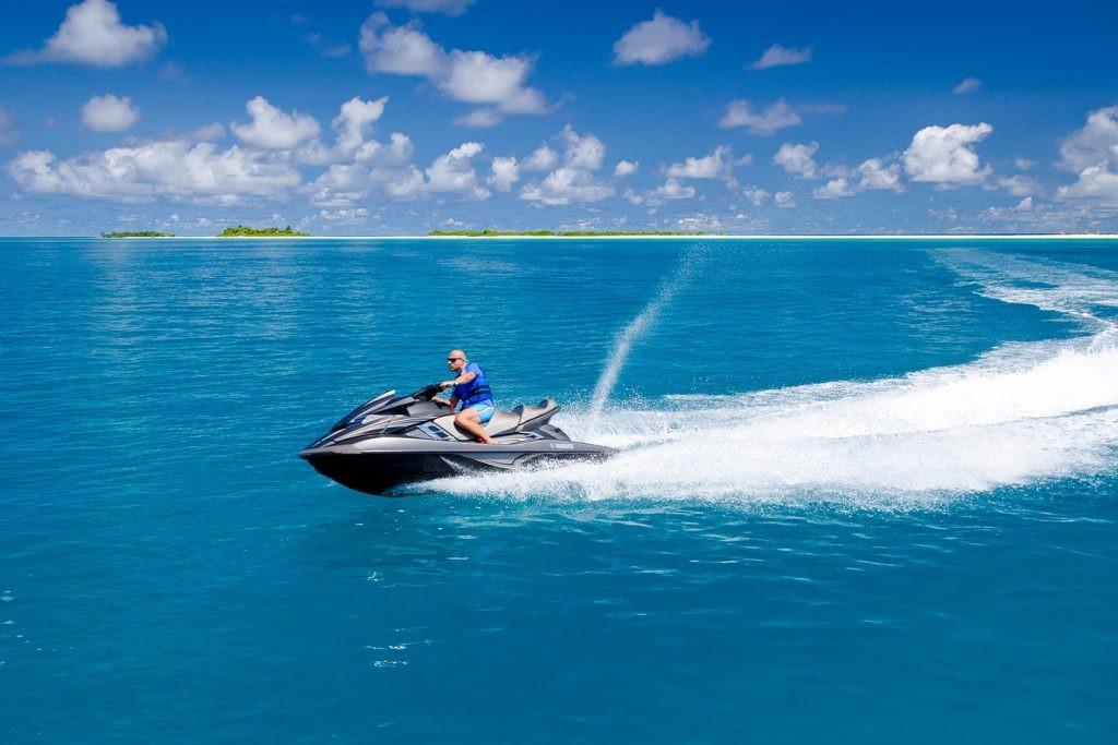 Jet Ski in Maldives