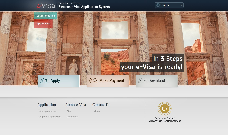 Visa to Turkey
