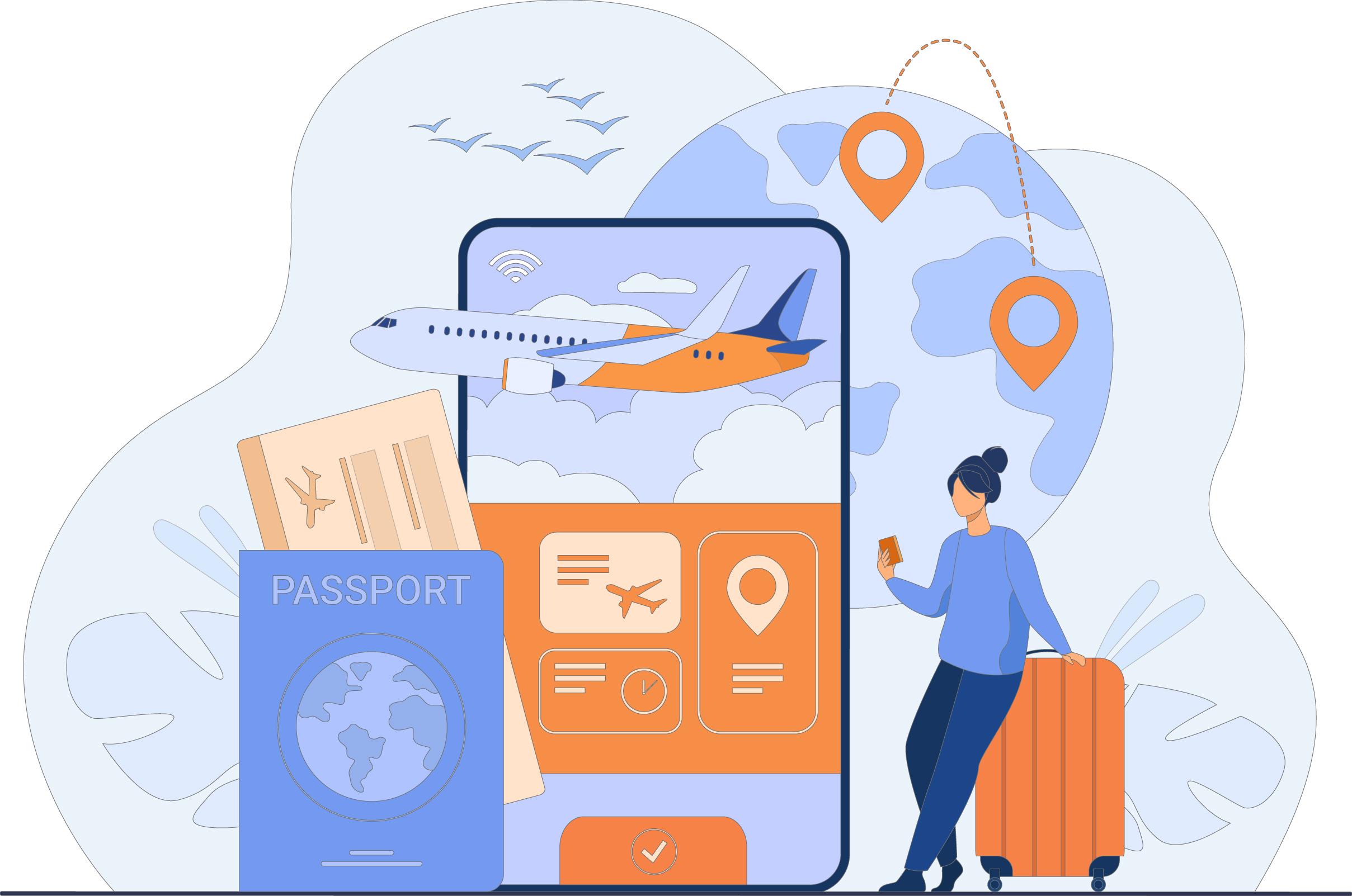 أنت الرابح دوماً مع خدمات حجز الطيران من سفرك السياحية!