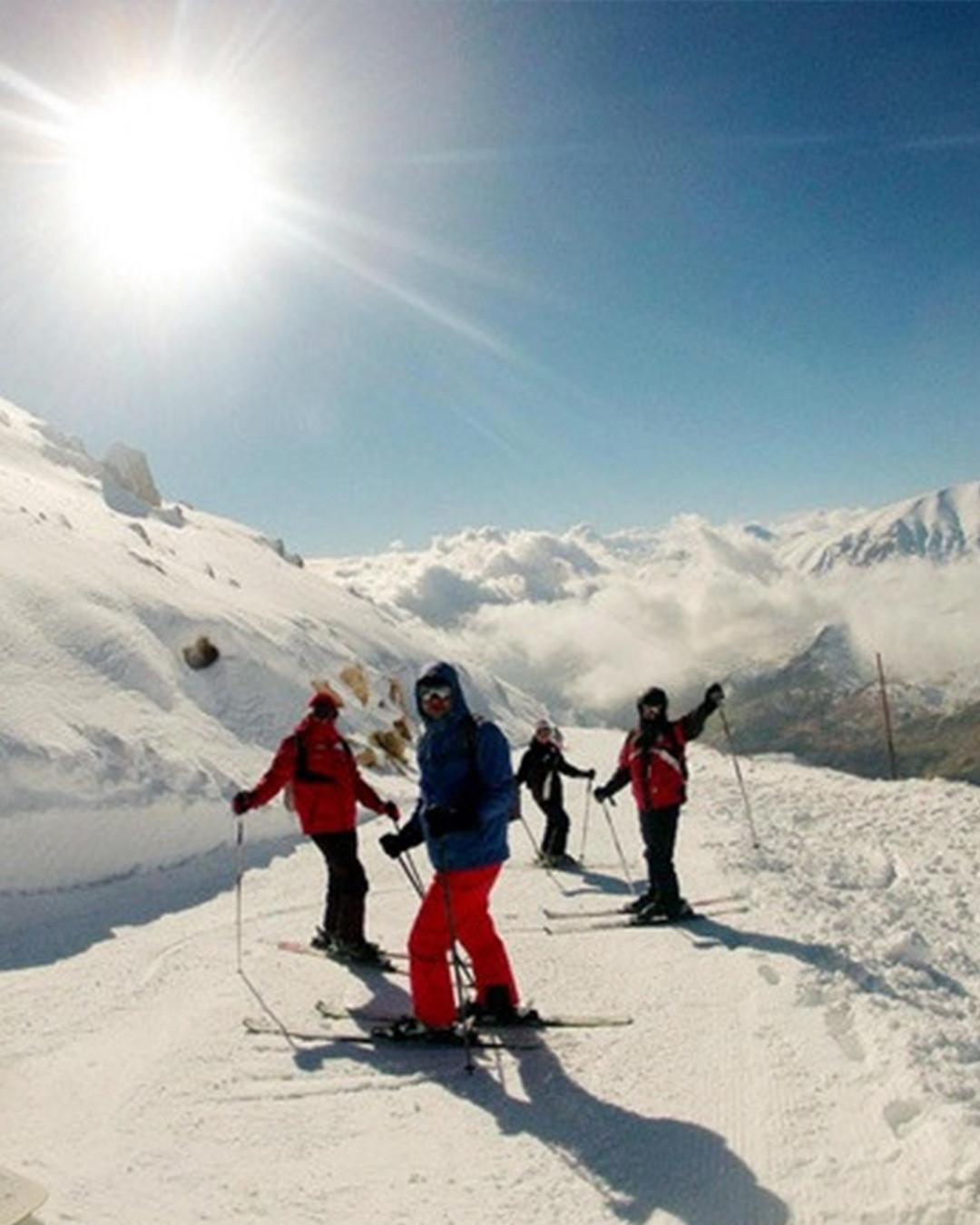 التزلج في أنطاليا